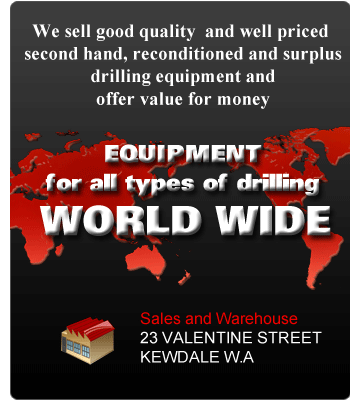 Drilling Equipment for all types of drilling world wide
